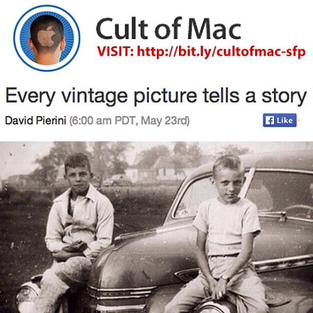 Every Vintage Picture Tells a Story, Save Family Photos Featured in Cult of Mac