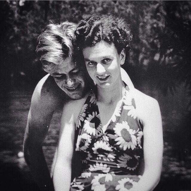 Simple Honeymoon Memories Memorialized in a Vintage Photo