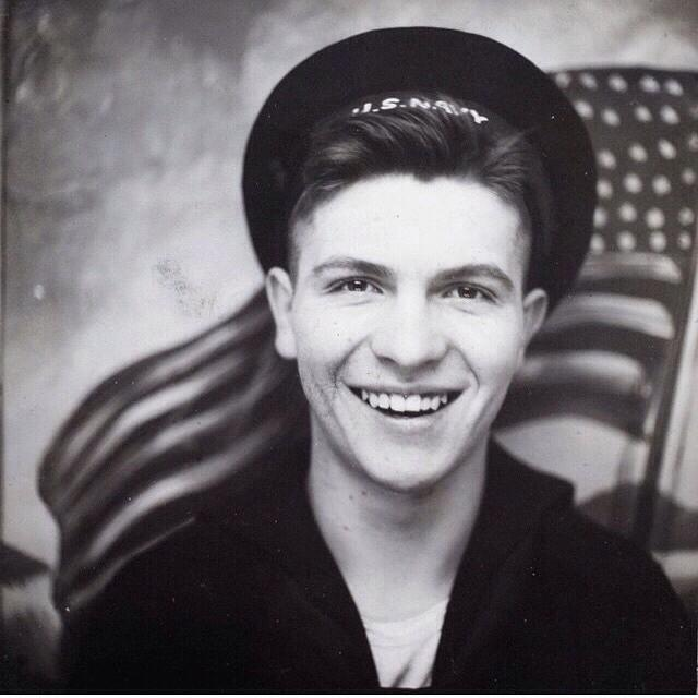 Why I Love this vintage photo of my grandfather as a teenager