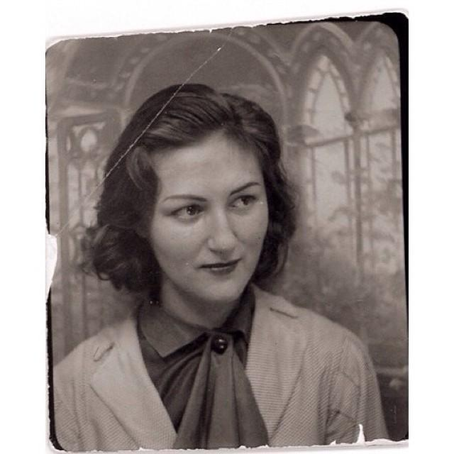 A Vintage Portrait of My Grandmother, a Woman Who Left a Legacy of Creativity