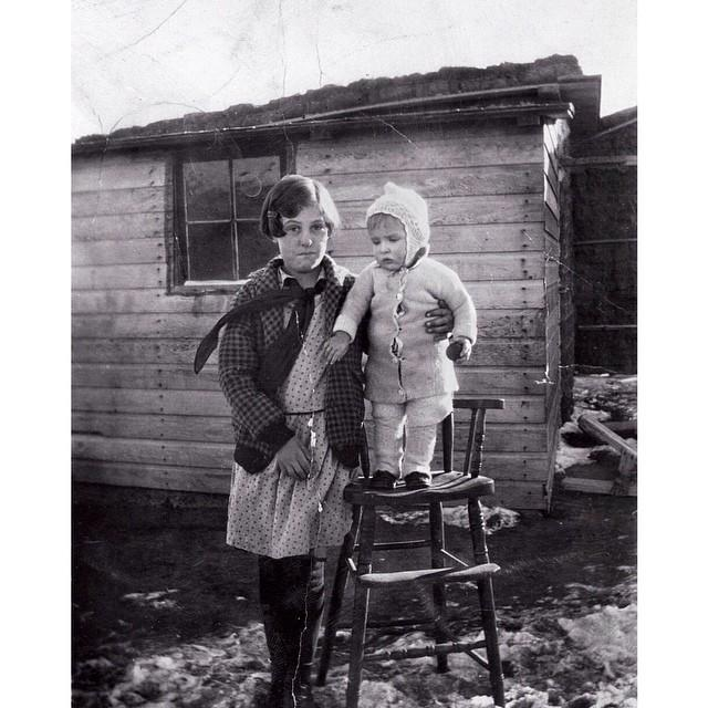 Vintage Family Photos from the Dust Bowl