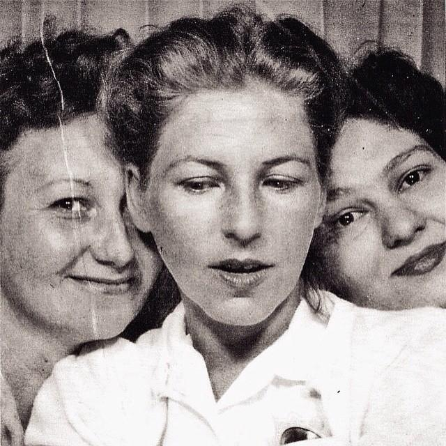 How An Old Photo Booth Snapshot Gave me a Glimpse into my Grandmother's Girlhood
