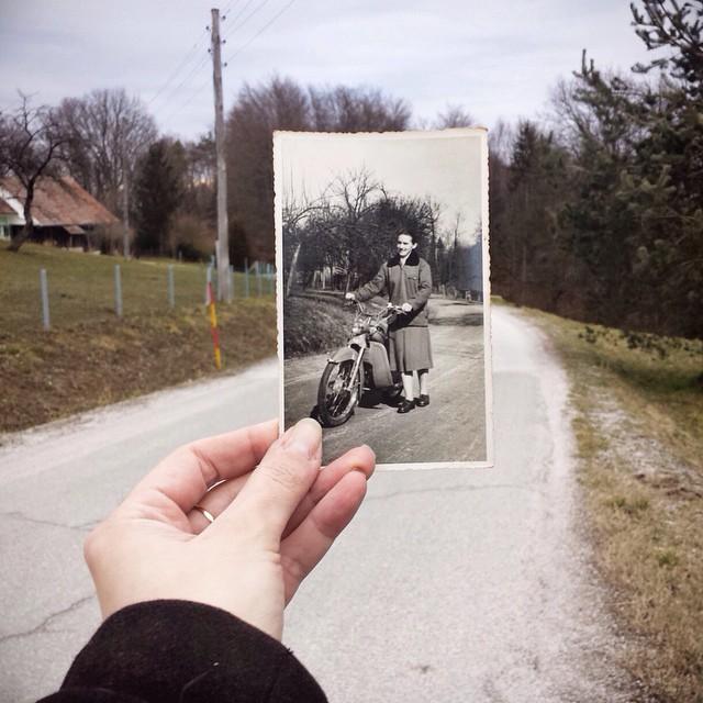 This photo of my grandma is my time machine