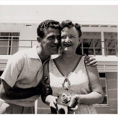 A Vintage Honeymoon Photograph Tells a Simple Love Story