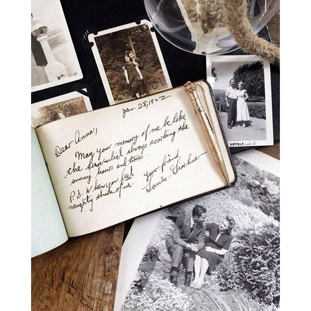 Discovering my Grandmother's Autograph Book Revealed my Grandfather's Love
