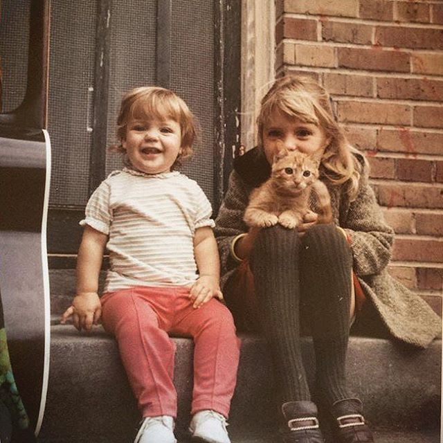 A Classic Childhood Snapshot of Sisters from Louisiana