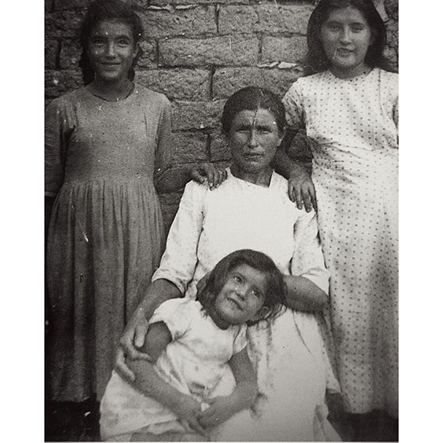 My Matriarchs Pictured in a Vintage Family Portrait from Mid-Century Mexico