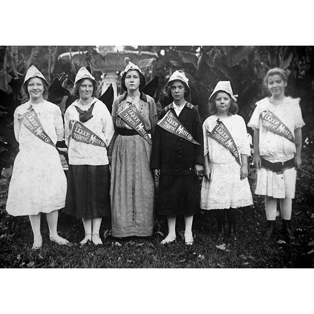 A Fun Vintage Snapshot of My Grandmother and her Friends Posing for Prohibition
