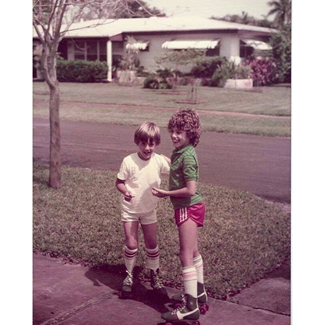 Throwback to Childhood Memories, Siblings and Skates