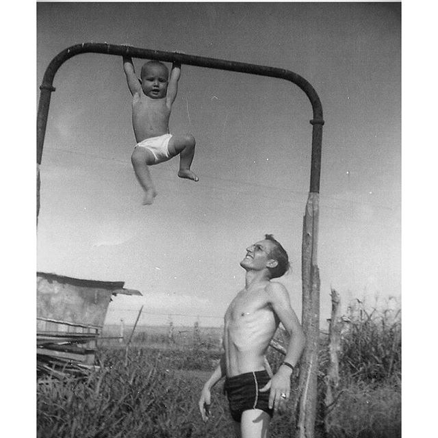 Just Hanging Around with My Grandfather and Father in Alabama in the 1950s
