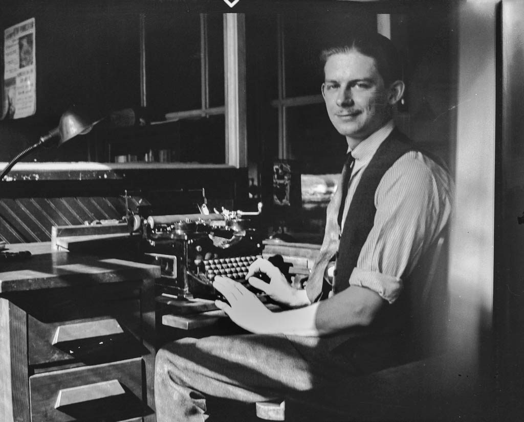 John and Typewriter