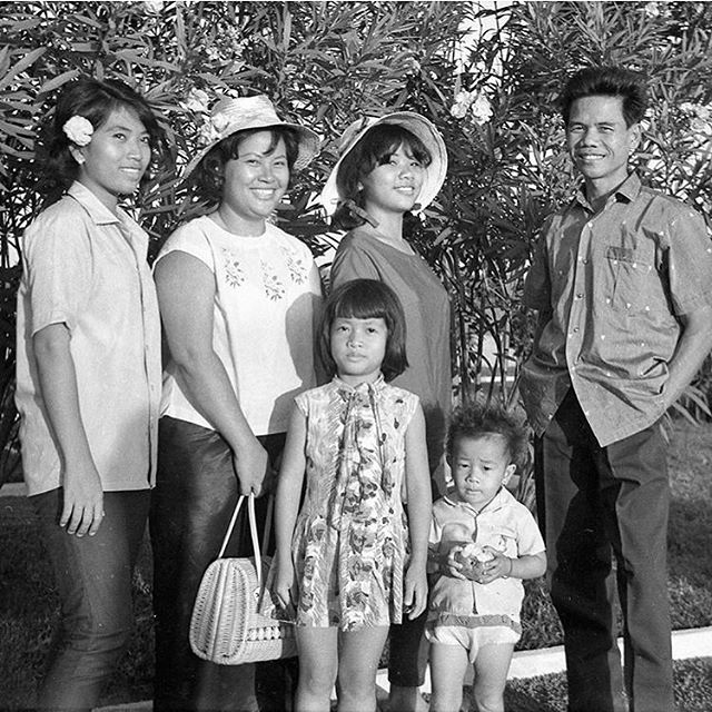 A Family Portrait of Life in Cambodia before my grandmother fled to America