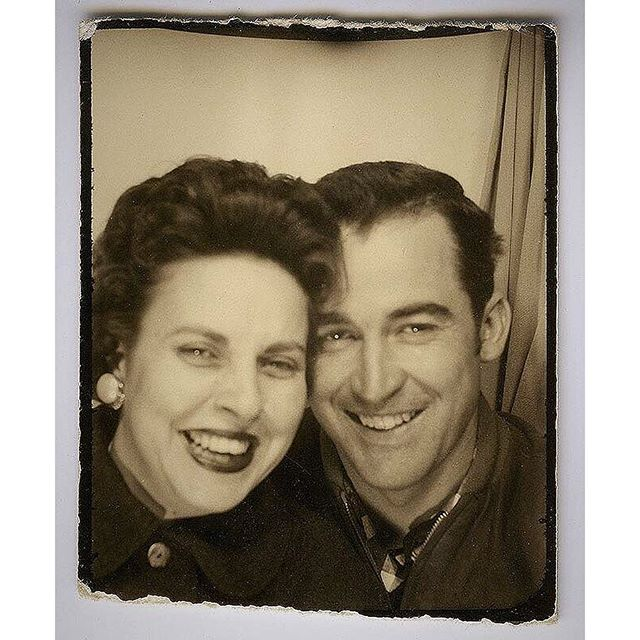 A Photo Booth Captures a Classic Love Story