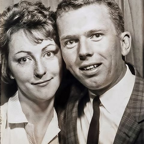 A Vintage Photo Booth Captured my Mom and Dad When They Were Young and in Love