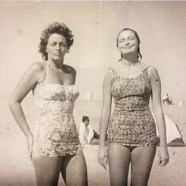 This Vintage Snapshot of my matriarchs is elegant and exotic